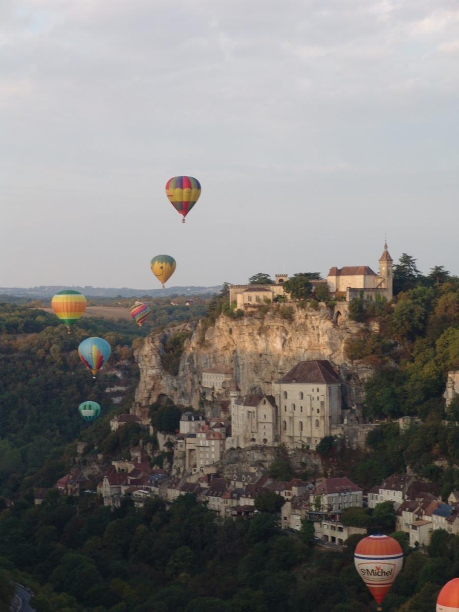 Rocamadour-Balloons